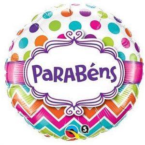 Balão Foil Redondo PARABÉNS 18