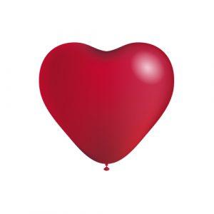 Balão Latex CORAÇÕES VERMELHO 5