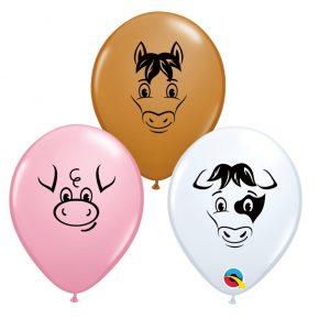Balão Latex ANIMAIS DA QUINTA 5