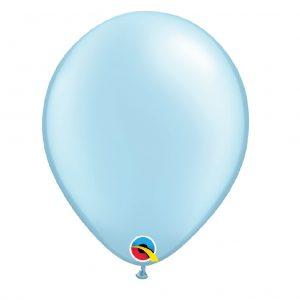 Balão Latex cor AZUL CLARO PEROLA PASTEL 11