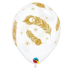 Balão Latex PENAS DE PAVÃO 11