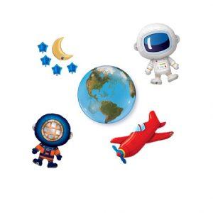 Astronauta, Mergulhador e Aviador