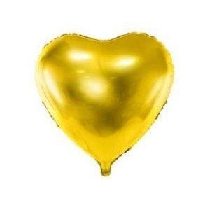 Balão Coração Foil DOURADO 9
