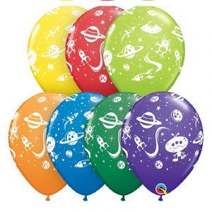 Balão LATEX NAVES ESPACIAIS E ET 11