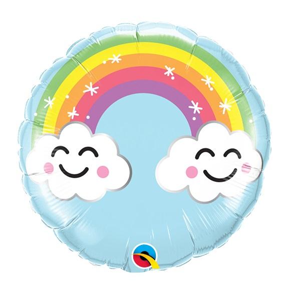 Balão Foil ARCO IRIS E SOL 9