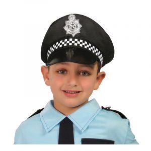 Chapéu Polícia criança 17cm